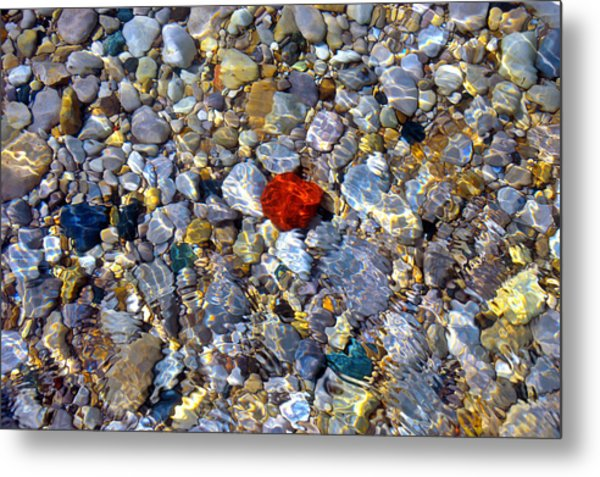 The Heart Of Lake Michigan Metal Print
