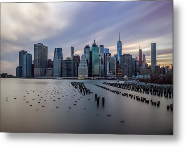 The Heart Of The City Metal Print
