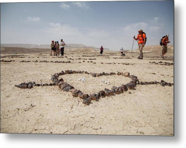 The Heart Of The Desert Metal Print