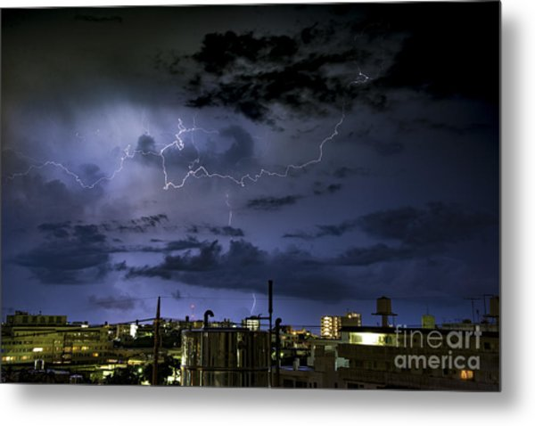 The Heavens Attack Metal Print