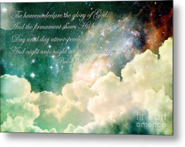 The Heavens Declare Metal Print