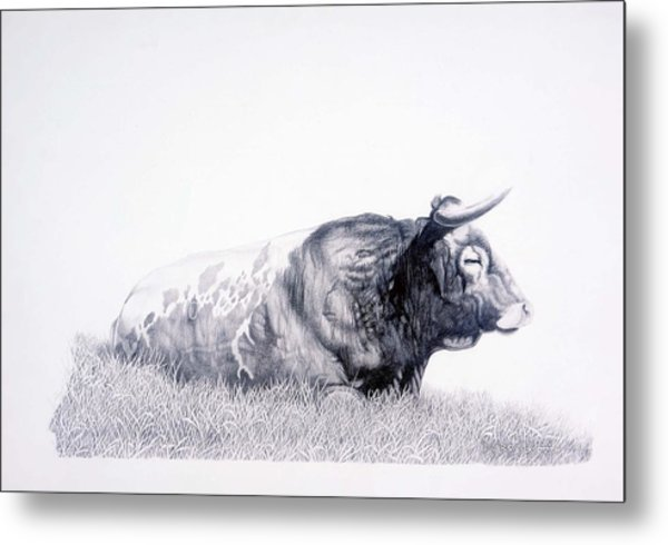The Herdmaster Metal Print