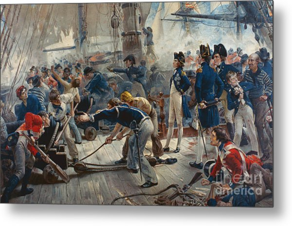 The Hero Of Trafalgar Metal Print
