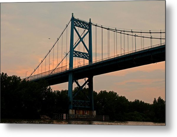 The High Level Aka Anthony Wayne Bridge I Metal Print