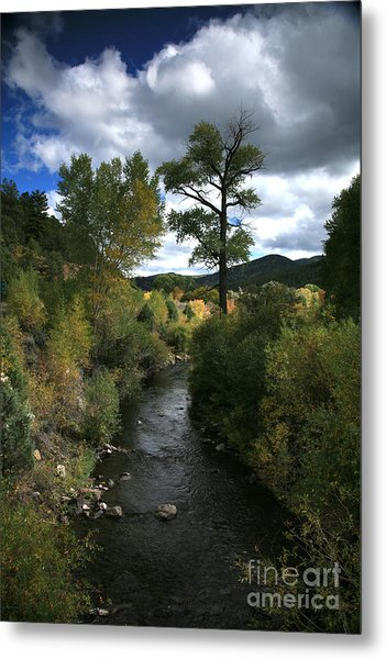 The High Road To Taos Metal Print