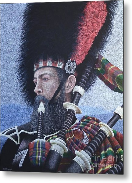 The Highlander Metal Print