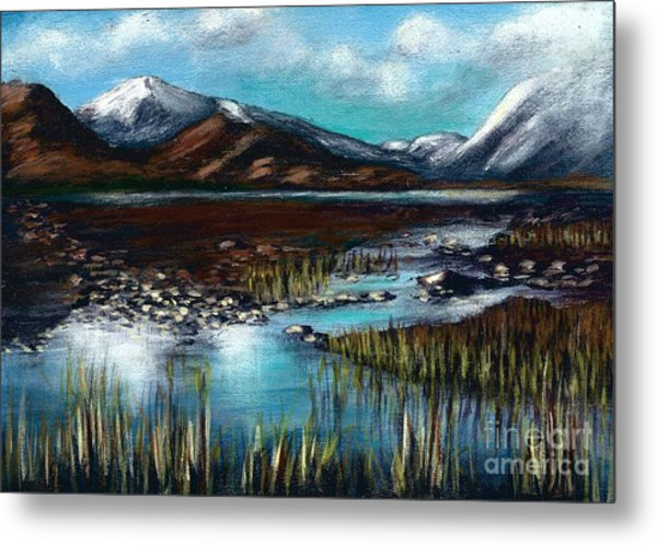 The Highlands - Scotland Metal Print