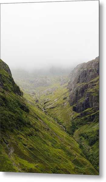 Metal Print featuring the photograph The Hills Of Glencoe by Christi Kraft