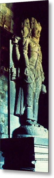 The History Temple Metal Print by Mario Bennet