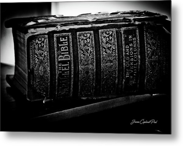 The Holy Bible Metal Print