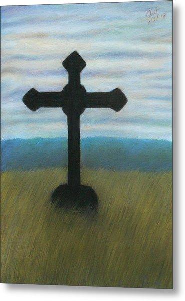 The Holy Cross Metal Print