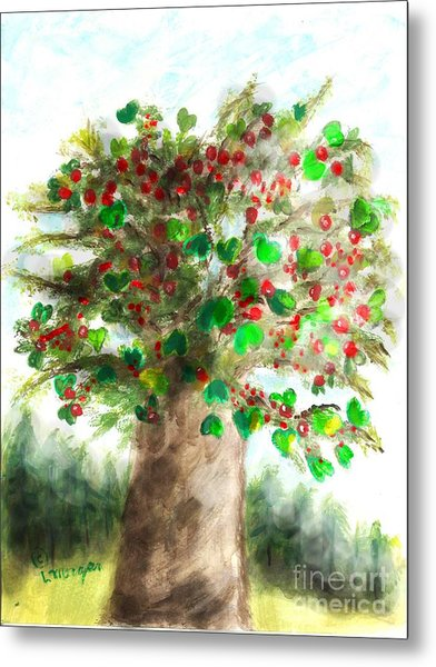 The Holy Oak Tree Metal Print
