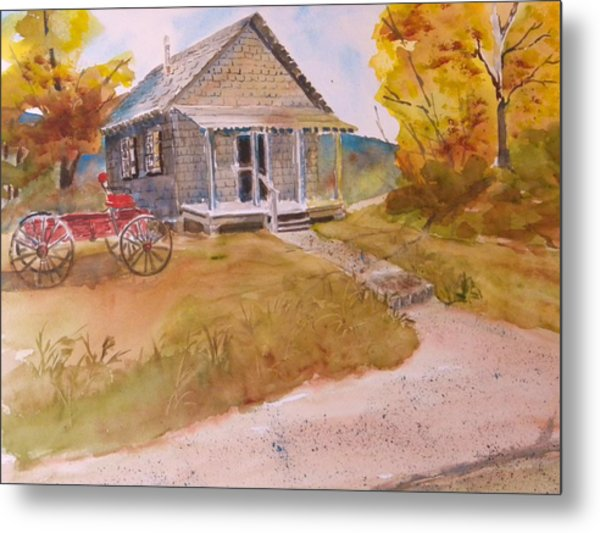 The Home Place Metal Print by Kris Dixon