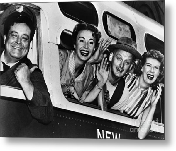 The Honeymooners, C1955 Metal Print