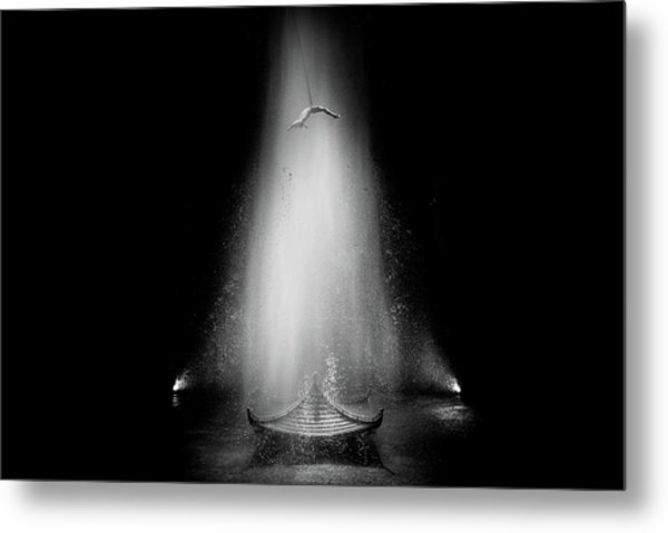 The House Of Dancing Water Metal Print