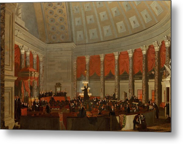 The House Of Representatives Metal Print
