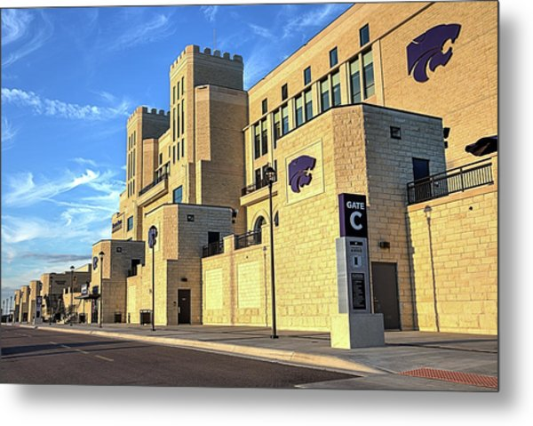 The House That Bill Built  Metal Print by JC Findley