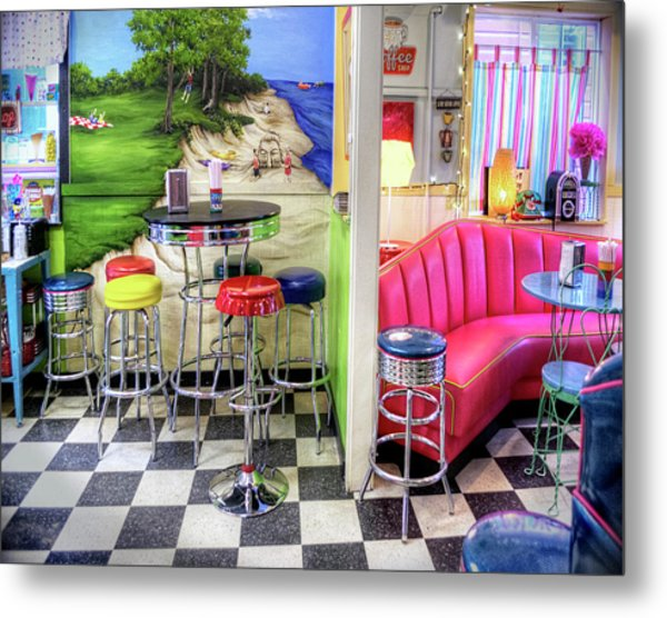 The Ice Cream Shoppe In Duval, Wa Metal Print