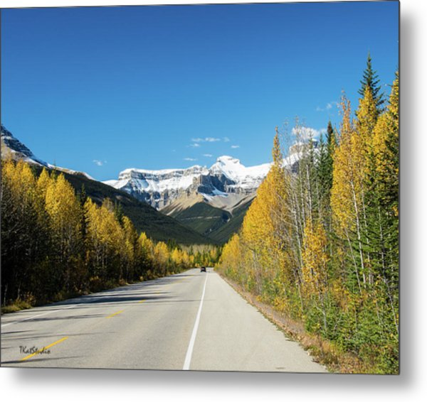 The Icefields Parkway Metal Print