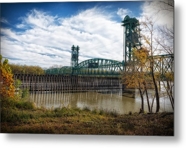 The Illinois River Metal Print