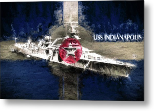 The Indianapolis Metal Print by JC Findley