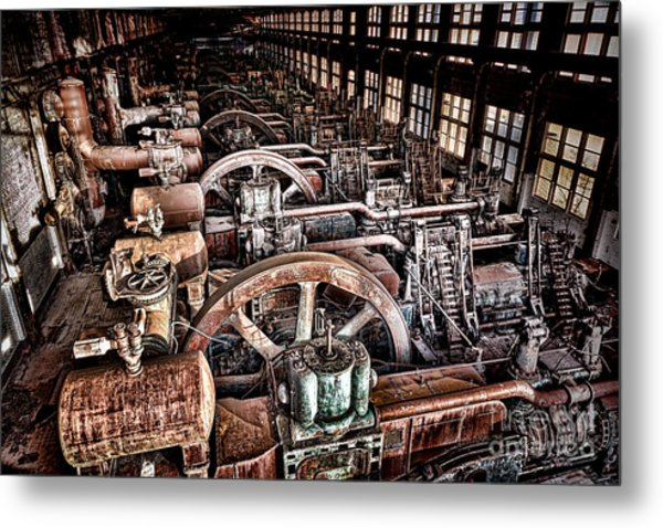 The Industrial Age Metal Print