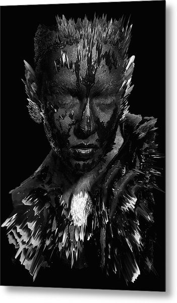 The Inner Demons Coming Out Metal Print
