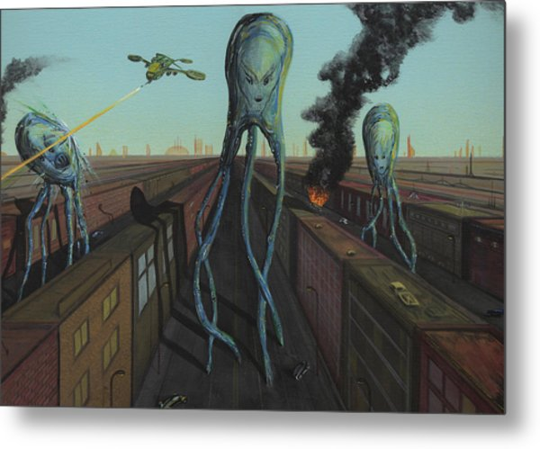 The Intruders Metal Print