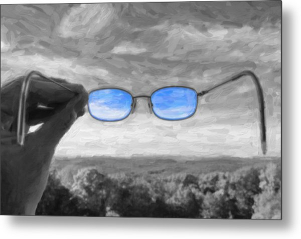 The Invisible Man 2 Metal Print