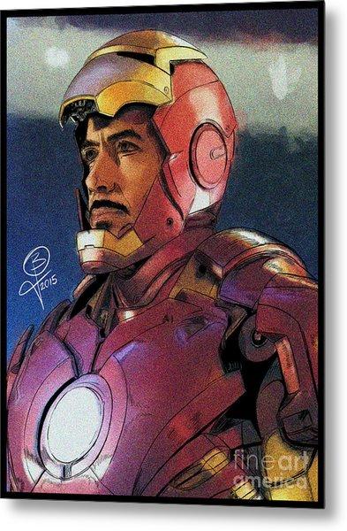 The Iron Avenger Metal Print by Joseph Burke