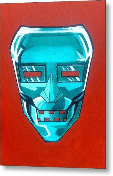 The Iron Mask Metal Print by George Penon Cassallo