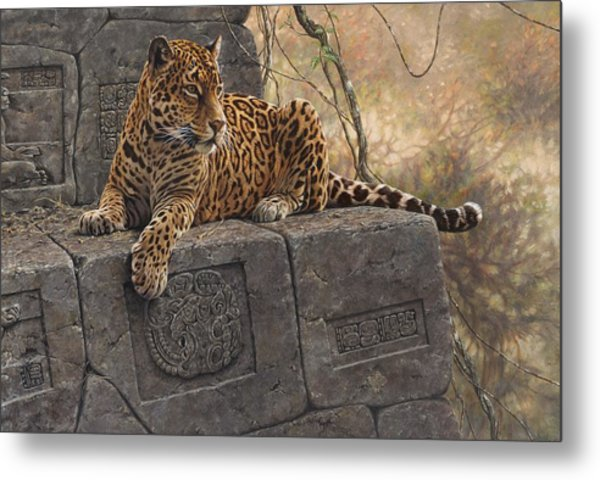 The Jaguar King Metal Print