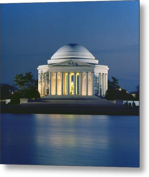 The Jefferson Memorial Metal Print