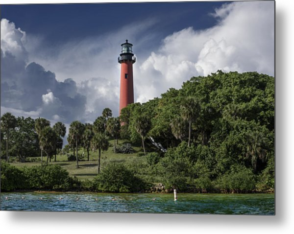 The Jupiter Inlet Lighthouse Metal Print