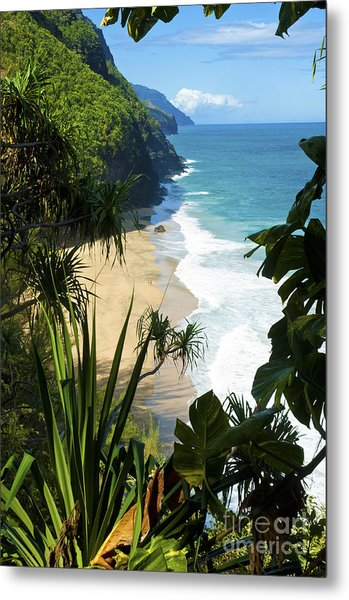 The Kalalau Trail Of Kauai Metal Print