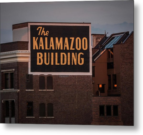 The Kalamazoo Building Metal Print