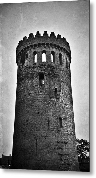 The Keep At Nenagh Castle In Nenagh Ireland Metal Print