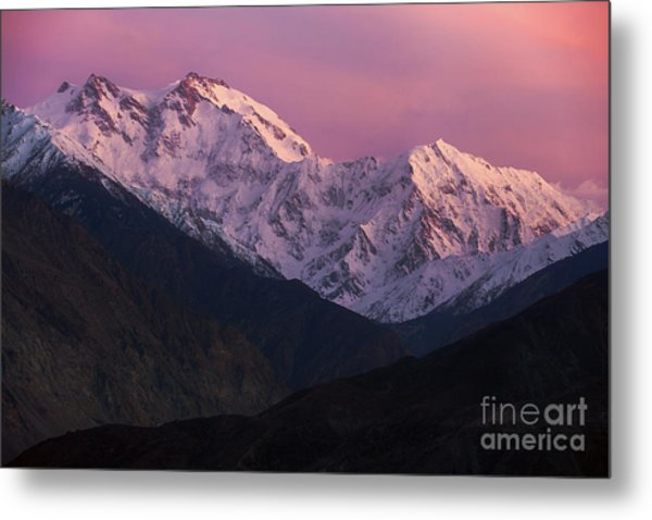 The Killer Mountain Metal Print