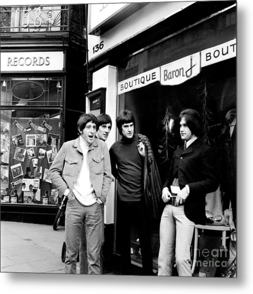 The Kinks 1966 Dedicated Follower Of Fashion Metal Print