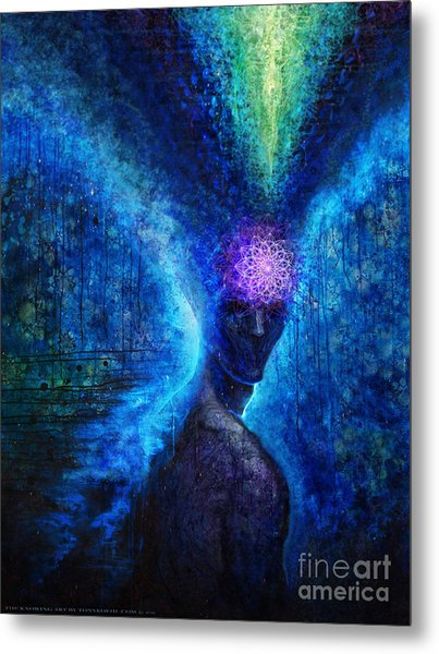 The Knowing Metal Print