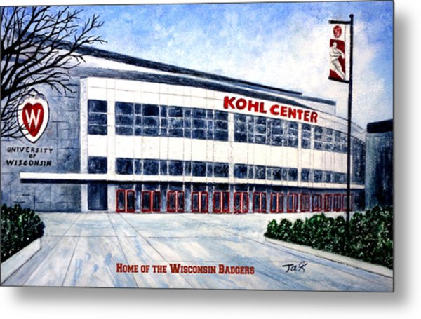 The Kohl Center Metal Print