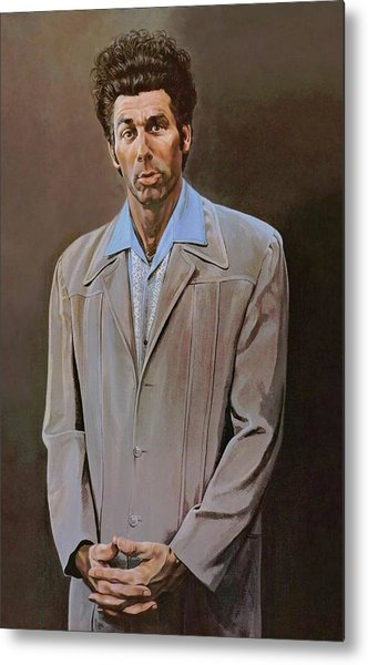 The Kramer Portrait  Metal Print