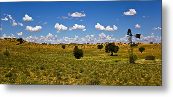 The Land Of The Free Metal Print by Basie Van Zyl