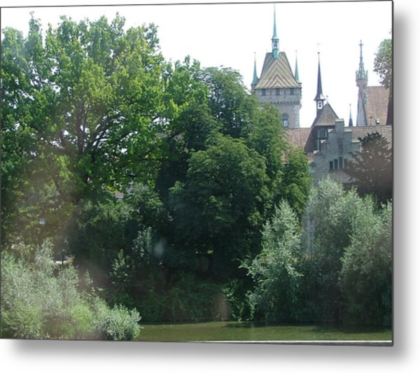 The Landscape Metal Print