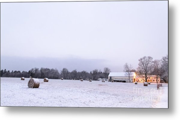 The Last Farm... Metal Print