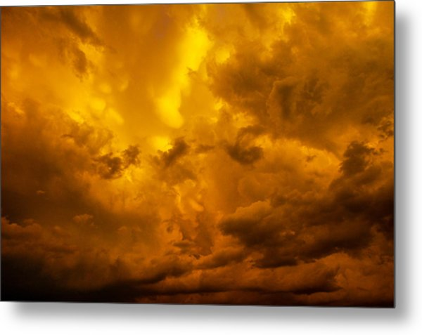 The Last Glow Of The Day 008 Metal Print