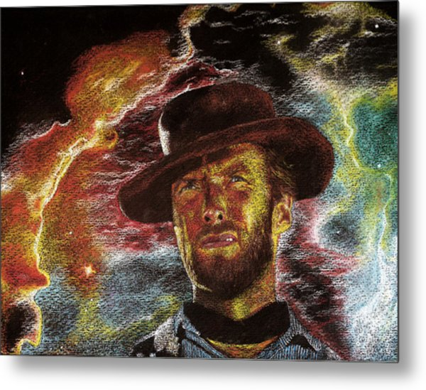 The Last Gunslinger Metal Print by Matthew Fredricey