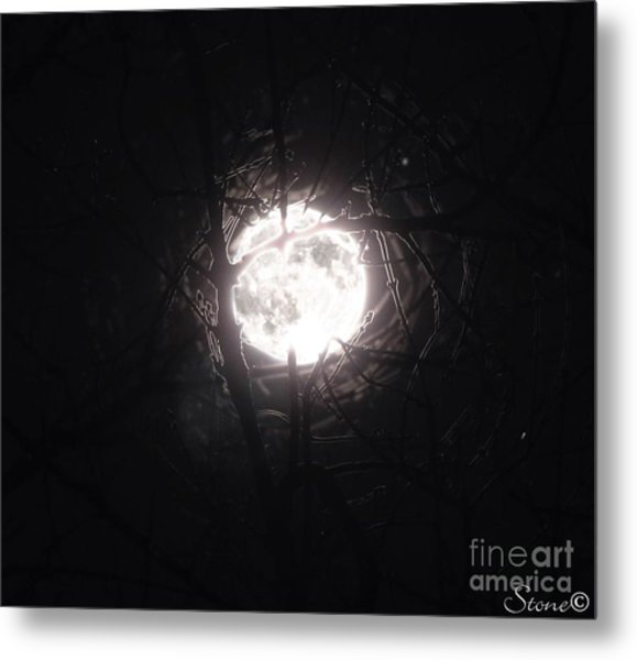 The Last Nights Moon Metal Print