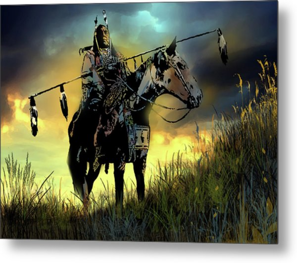 The Last Ride Metal Print