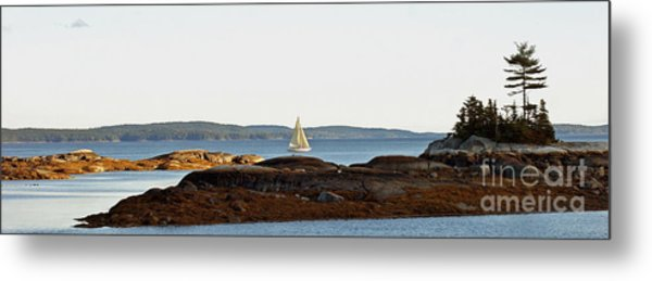 The Last Sail Metal Print
